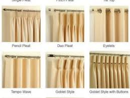 different curtain styles stylish idea different curtain styles types of curtains and drapes