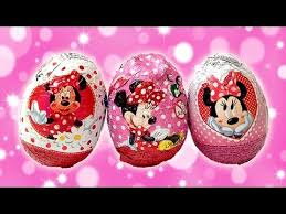 minnie mouse easter egg eggs minnie mouse and mickey mouse dolci preziosi