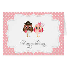 wedding congratulations card birds wedding congratulations greeting cards zazzle