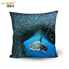 dolphin home decor hugsidea custom 3d printing home decor cushion cool animal dolphin