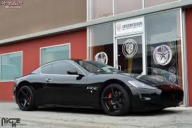 maserati gt black maserati quattroporte niche gt 5 m133 wheels satin black