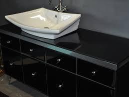 bathroom vanity trendy white vessel bathroom sinks design above