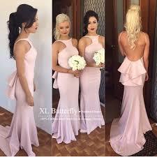 blush colored bridesmaid dress sparkly blush pink bridesmaid dresses 2016 halter neck