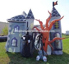 2017 new inflatable haunted house halloween inflatable haunted