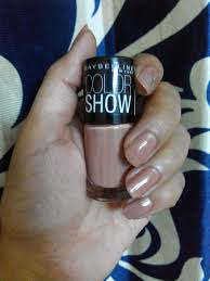 product review maybelline color show nail polish u2013 pure plum