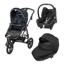 si e auto bebe confort bebe confort trio high trek passeggini trio bebe confort