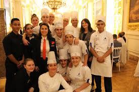cuisine de groupe lycée rené auffray photo de groupe avec les élèves de cuisine de