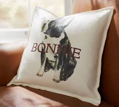 personalized painted pillow covers pottery barn