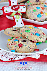 m u0026m funfetti cookies can u0027t stay out of the kitchen