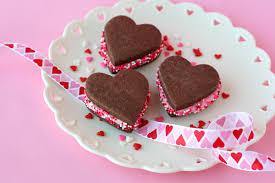 chocolate valentine u0027s sandwich cookies u2013 glorious treats