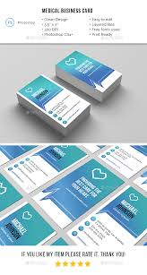 Medical Business Card Design Industry Specific Business Card Templates From Graphicriver
