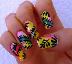 60 pics beautiful hibiscus nail art trends hibiscus nail art