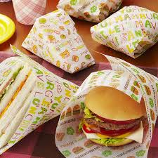 cheeseburger wrapping paper interior palette rakuten global market burgers and sandwiches