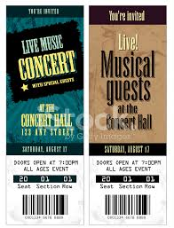 sample tickets template template examples
