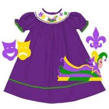 mardi gras baby clothes smocked mardi gras bishop smocked so sweetly children s clothing