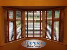 bay window wooden blinds made to measure blinds blinds