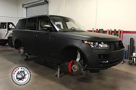 matte black range rover matte black range rover car wrap wrap bullys