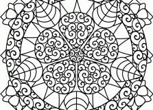 Hard Flower Coloring Pages - girls scout cookie coloring pages just colorings