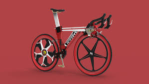 ferrari bicycle car ferrari and pirelli make a concept bike with a kers system