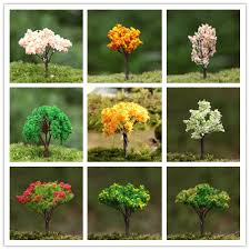aliexpress buy hotsale colorful miniature artificial trees