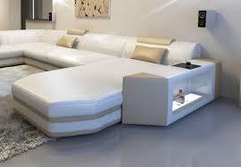 Modern Corner Sofa Bed Modern U Shaped Sofa Dallas Xxl With Lights