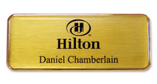 metal name badges tags no setup fees name badges international