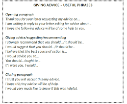 Formal Letter Asking Information formal letters and emails giving and requesting advice