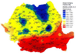 Romania Map Romania U0027s Solar Map Energy Street En
