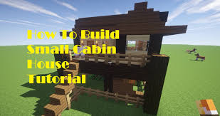 minecraft tutorial how to build small cabin house on survival