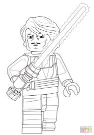 lego star wars anakin weapon skywalker coloring pages