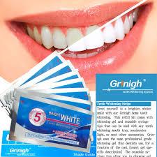 aliexpress com buy grinigh teeth whitening strips 7 pouches