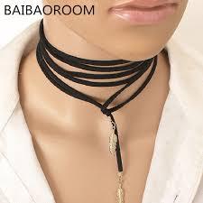 women choker necklace images Women choker collar necklace velvet strape shop wazobia jpg