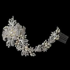 bridal hair comb gallica bridal vine hair comb bridal hair accessories