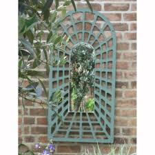Metal Garden Arches And Trellises Parallax 1 2m Illusion Perspective Arch Trellis Garden Mirror