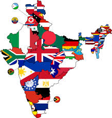 All The States Flags All Sizes Flag Map Of Indian States Flickr Photo Sharing