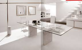 Modern White Dining Room Perfect White Dining Room Table Modern - All white dining room