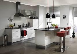 exemple de cuisine avec ilot central cuisine ouverte avec ilot table beautiful modle cuisine avec ilot