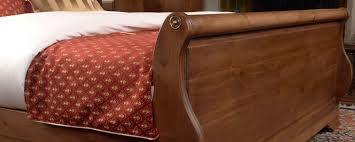 solid wood sleigh beds handcrafted in the uk from 922 revival beds