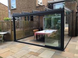 Outdoor Glass Patio Rooms - glass rooms glass roof u0026 terrace cover examples elegantly