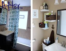 cool bathroom decorating ideas unique diy bathroom wall décor idea to look simple and modern