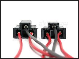 h4 9003 male wire harness connectors plugs d2s d2r hid ebay