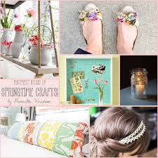 printablewisdom pinterest round up springtime crafts