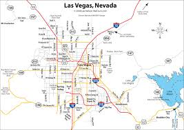 Map Of The Strip In Las Vegas by Las Vegas Casino List
