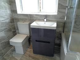 grey bathroom tiles ideas grey tile bathroom floor northlight co