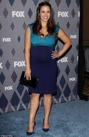 Seeking Cast Rosa Nine Nine S Fumero Debuts Baby Belly At Fox