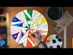 painting mandada colorwheel youtube