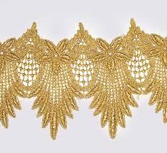 gold lace ribbon silk fabrics ooak artist emporium