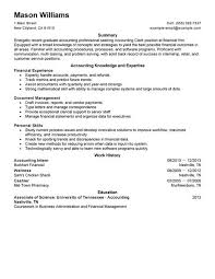 Resume Accounting Examples by Download Sample Resume For Accounting Position