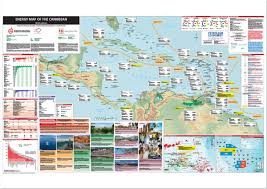 Caribbean Map by Energy Map Of The Caribbean Petroleum Economist Store