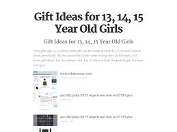 best gift ideas for 14 year